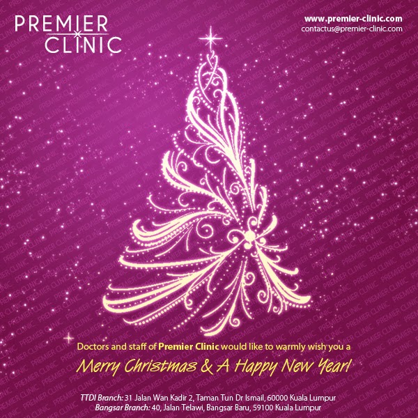 Christmas & New Year Greetings from Dr Kee Yong Seng