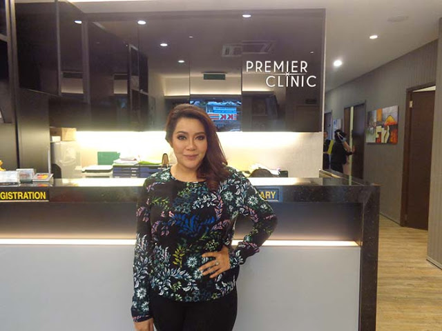 Ifa Raziah at Premier Clinic Kuala Lumpur for Weight Loss