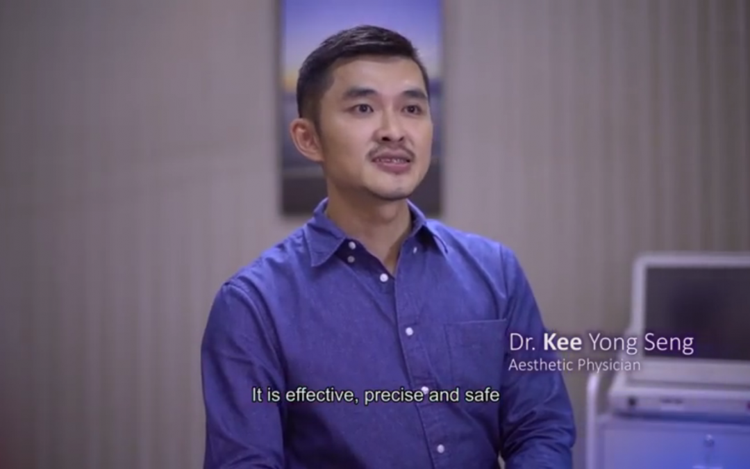 Dr Kee Yong Seng to be the opinion leader of Ultherapy Non-Invasive Skin Lifting