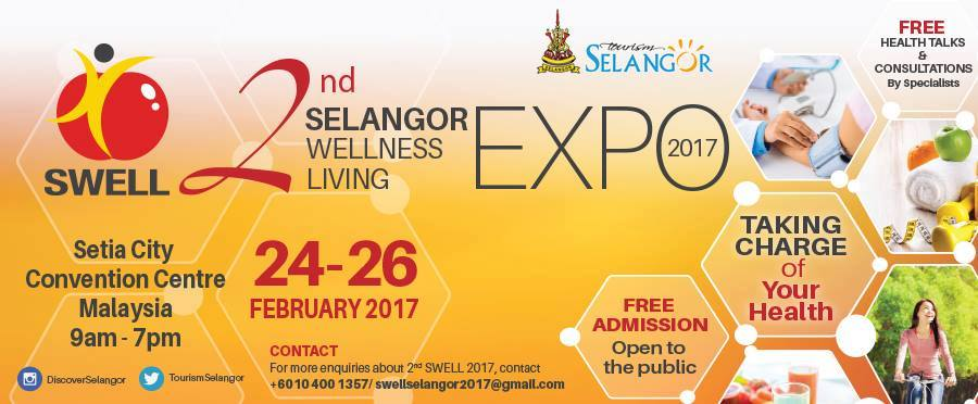 2nd Selangor Wellness Living Expo 2017 in Shah Alam