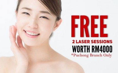 FREE Brightening Laser worth RM4000 at Premier Clinic Puchong