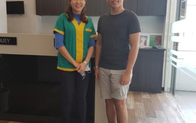 Malaysian Blogger Faez Ramly does the Fractional Laser Co2 Treatment for Acne Scars with Dr Michelle Lai