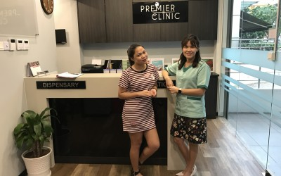 Philippines Famous Blogger, Jean Cyrene Riparip with Dr. Michelle Lai on Fractional CO2 Laser