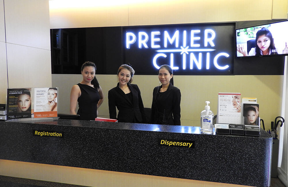 Premier Clinic Bangsar reception