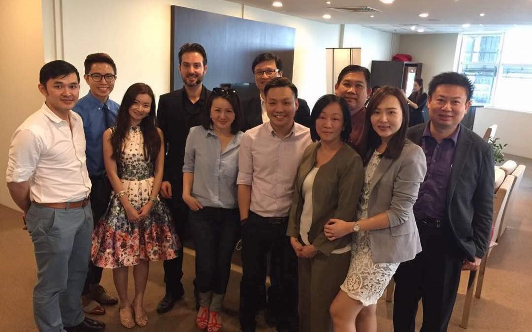 Dr. Kee Yong Seng in Restylane Mega Brand Workshop