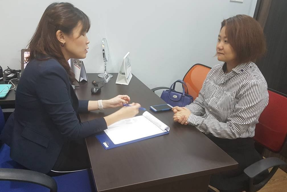 Wendy Phua experience doing permanent hair removal laser with Dr. Michelle Lai
