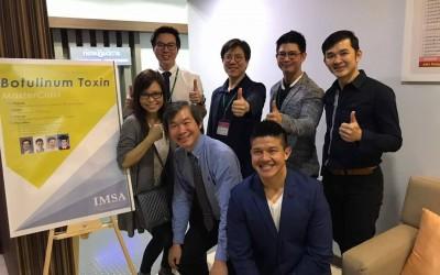 Dr. Kee Yong Seng attending Master Class Botulinum Toxin Dysport at IMSA