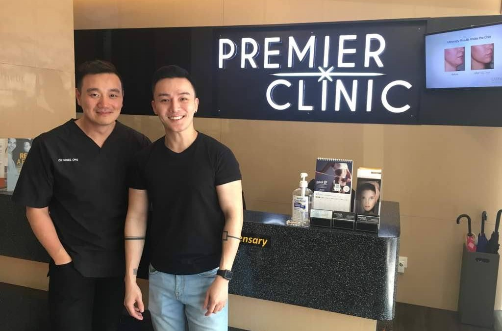 "Adrian Li, Winner of ""I Wanna Sing"" Competition is here for Permanent Laser Hair Removal"