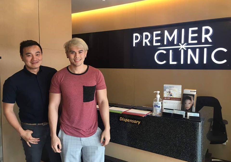 Nash Cogen invade Premier Clinic to get Fractional CO2 Laser with Dr. Nigel Ong