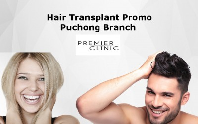 Hair Transplant Promo only at PUCHONG Branch!!!
