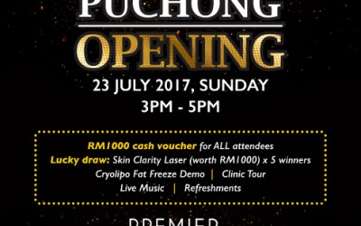 Premier Clinic Puchong Grand Opening 23rd July 2017, 3.00-5.00pm