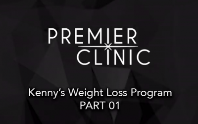 Watch our client's weight loss journey! Part 01