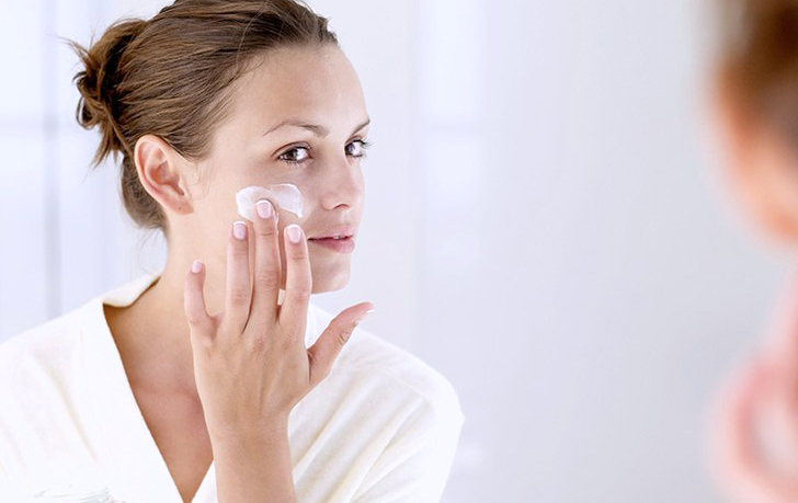Apply moisturiser