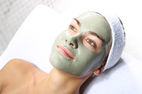 Use a clay mask